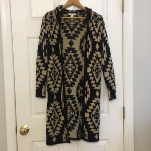 New York and company tribal cardigan